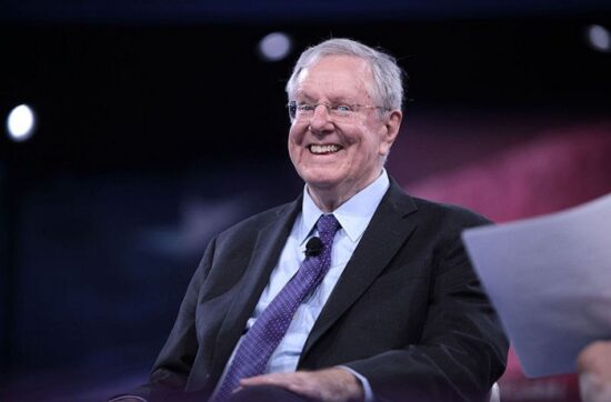 I Learned a Surprising Lesson Making Steve Forbes Laugh at a Party